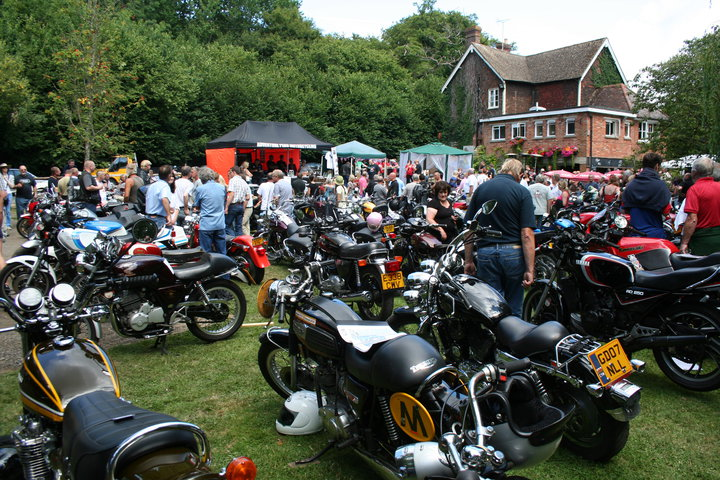Huntsman Motorcycle Club 2017 Rally in The Railway, Eridge Station near Tunbridge Wells. Clean MyRide combined bikewash degreaser's very first outdoor event and a fantastic day was had by all.