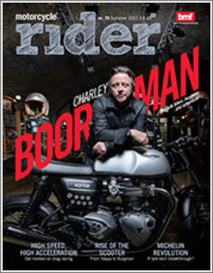 BMR Rider Magazine and first publication for Clean MyRide combined bikewash degreaser